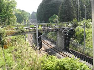 跨線橋架替え 施工計画、仮設設計、積算