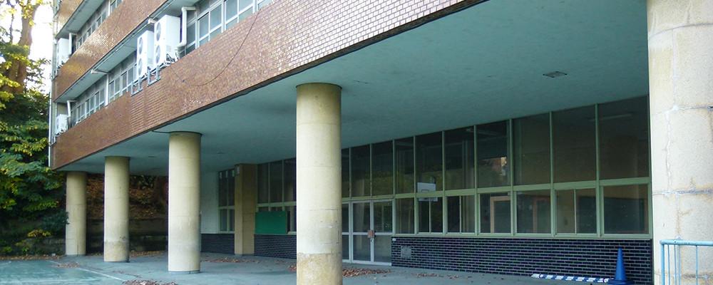フェリス女学院大学音楽学部棟(改修前)
